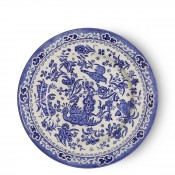 Tea/Tidbit/Side Plate, 17.5cm - Blue