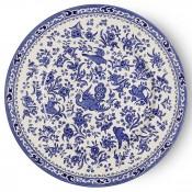 Dinner Plate, 25cm - Blue