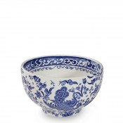 Open Sugar/Rice/Small Bowl, 12cm - Blue