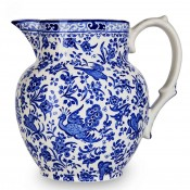 Etruscan Jug/Pitcher, 20cm, 2.2L - Large - Blue