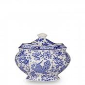 Jam Pot/Covered Sugar Bowl, 11.5cm, 480g - Blue