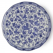 Round Cake Plate, 28cm - Blue