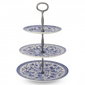 3-Tier Cake Stand - Blue
