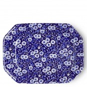 Octagonal Serving Platter/Shallow Tray, 33x25cm - Large