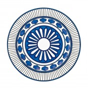 Large Deep Round Platter, 42cm