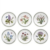 Set/6 (Assorted Floral Motifs) Dessert/Salad/Side Plates, 21.5cm