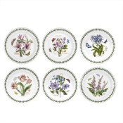 Set/6 (Assorted Floral Motifs) Dinner Plates, 26.5cm