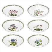 Set/6 (Assorted Floral Motifs) Soup Bowls, 21.5cm
