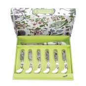 Cheese Knife 17cm & Set/6 Butter Spreaders, 12cm