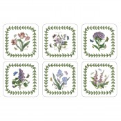 Set/6 Square Coasters, 10cm