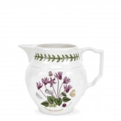 Staffordshire Jug/Pitcher, 11.5cm, 600ml - Cyclamen
