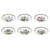 Set/6 (Assorted Floral Motifs) Pasta/Low Bowls, 22cm