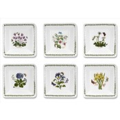 Set/6 (Assorted Floral Motifs) Square Cereal/Small Bowl, 16.5cm