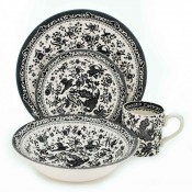 4 Piece Place Setting - Black