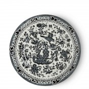 Tea/Tidbit/Side Plate, 17.5cm - Black