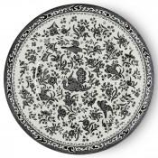 Dinner Plate, 25cm - Black