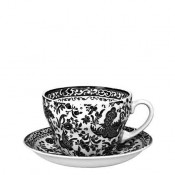 Breakfast Cup & Saucer, 425ml - Black