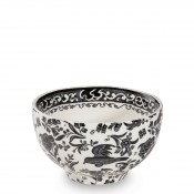 Open Sugar/Rice/Small Bowl, 12cm - Black
