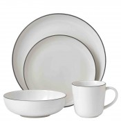 4 Piece Place Setting - White