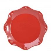 Ruby - Dessert/Salad Plate, 23cm - Scallop