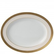Large Oval Platter, 40.5x31cm