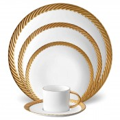 5 Piece Place Setting - Gold
