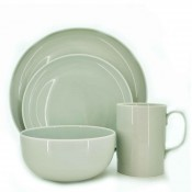 4 Piece Place Setting - Green
