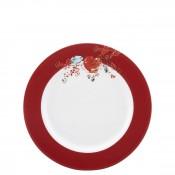 Tidbit/Desert Plate, 16.5cm - Scarlet