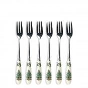 Set/6 Pastry Forks, 15cm