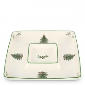 1-Piece Square Chip & Dip Server, 30.5x30.5cm