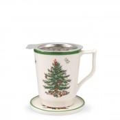 Tisaniere: Mug with Coaster & Strainer, 350ml