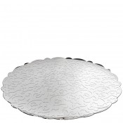 Round Tray, 35cm - Stainless Steel