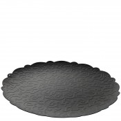 Round Tray, 35cm - Black