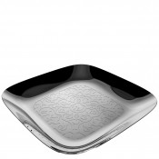 Square Tray, 34cm - Stainless Steel
