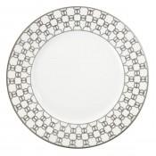 Dinner Plate · Hermes  sc 1 st  William Ashley China & Hermes - Fil Du0027Argent White/Grey | William Ashley China