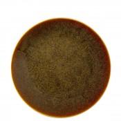 Flamed Caramel - Coupe Dessert/Salad Plate, 21cm