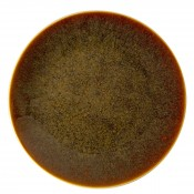 Flamed Caramel - Coupe Luncheon Plate, 25.5cm