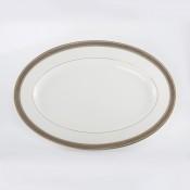 Large Oval Platter, 35.5 cm