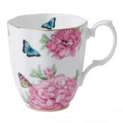 White Vintage Mug, 10.5cm, 400ml