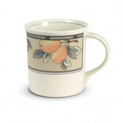 Mug, 9cm, 215ml - Half Decoration
