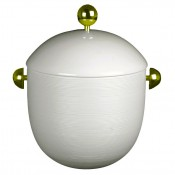 Covered Soup Tureen with Gold Knob & Handles, 25.5cm, 1.9L