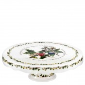 Scalloped Footed Cake Plate/Stand, 27cm