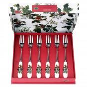 Set/6 Pastry Forks, 15.5cm