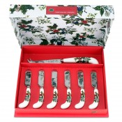 7-Piece Cheese Knife & Spreaders Set