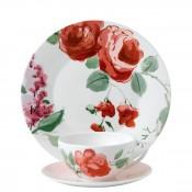 3 Piece Tea Set - Rose