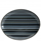 Stripes - Oval Serving Platter, 36x28.5cm