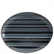 Stripes - Oval Serving Platter, 36x28.5cm