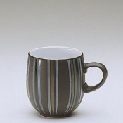 Stripes - Large Curve Mug, 10cm, 400ml