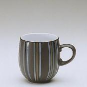 Stripes - Large Curve Mug, 10cm, 400ml