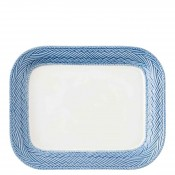 Rectangular Serving Platter, 29.5x23.5cm - Delft Blue